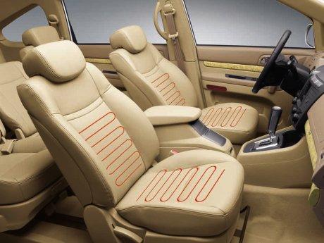 Rodius beige seats