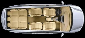 Rodius seat variations